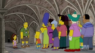 The Simpsons 21x16 : The Greatest Story Ever Doh'd- Seriesaddict